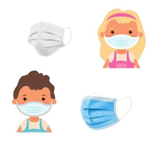 Higenska maska za otroke