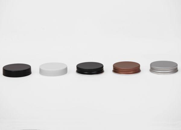 Pokrovček za lonček Aroma - črn