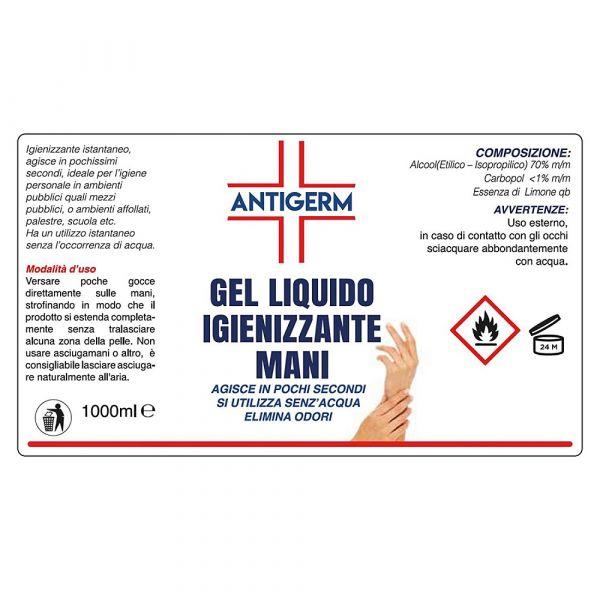 Gel za dezinfekcijo rok ( 1000 ml )